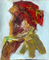 Woman With Red Cap by segroeg