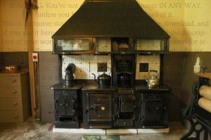 Victorian Style Oven-cooker by PzychoStock