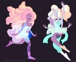 First Merge Rainbow Quartz + Opal by dou-hong