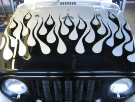 Jeep Flames by PinstripeChris