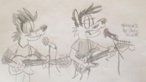 Guitarist by Wolfie-Jake