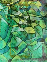 .green abstract. by santosam81