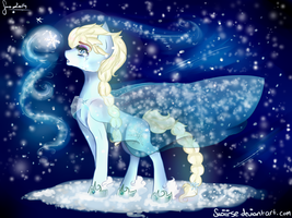 The Cold Never Bothered Me Anyway.. by Saoiirse