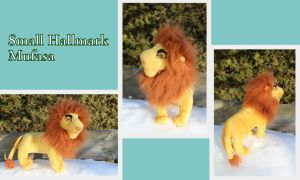 Small Hallmark Mufasa by Laurel-Lion