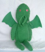 Amigurumi Cthulhu by holls