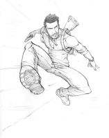 Nathan Drake by PatrickBrown