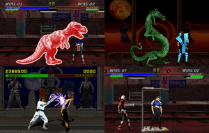 Mortal Kombat Fatalities_Screenshots Collage by Gintoki333Sakata