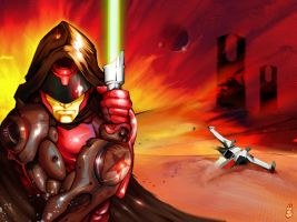 Red Iron Jedi by Mydole