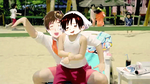 Romano and Spain Gif - Gangnam Style by Blueyedgirl27