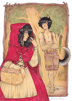 Little Red Riding Hood by Sadyna