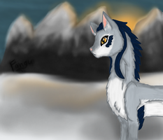 The Queen of Snow by FanguoftheFlowers