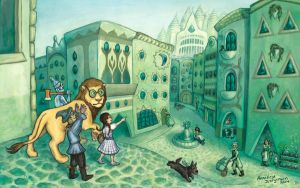 The Wonderful City of Oz by nebester
