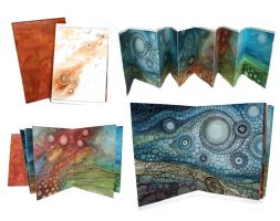 Red Tide Artist Book by CAMartin