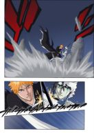 Ichigo vs Ulquiora by firewind1