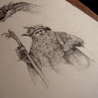 Radagast by moussee