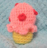 Crochet Ice Cream by neonjello17