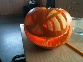 Pumpkin in my kitchen by Yay4Amy