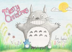 Totoro Christmas! by wonderboy4