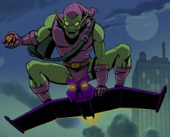 spider man the animated series green goblin by stalnososkoviy
