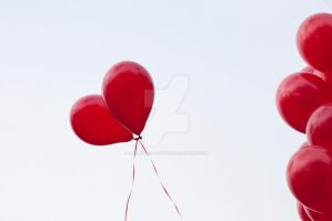 Love Balloons by AkraruPhotography