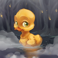 Duck in the Dark by xepxyu