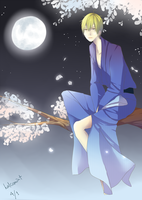 Kise Ryouta - Hanami version by miNthiMe