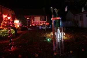 The Halloween House... by VileYonderboy