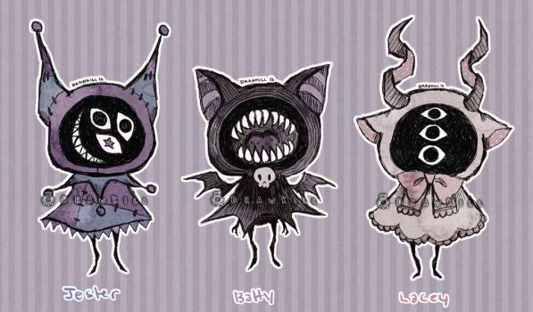 Eyeball Puppet Adopts! [CLOSED] by DrawKill
