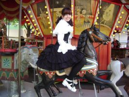 On the Carousel by A-Little-White-Lie