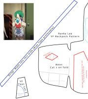 Backpack Pattern - Ranka Lee by RenaInnocenti