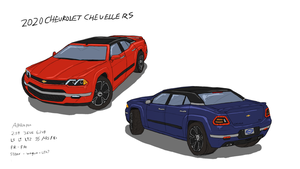 2020 Chevy Chevelle Concept by ScottaHemi