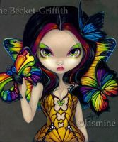 Fairy with a Butterfly Mask by jasminetoad