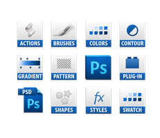photoshop cs5 file icons by dabbex30