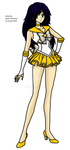 Serenity - Sailor Silverion by xCrystal-Phoenix