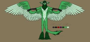 Kasch : Full Body Reference by prettychaos