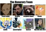 The Honorary Team by zoey17