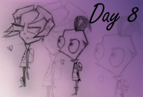 Day 8: Invader Zim 20 Day Challenge by epicdango