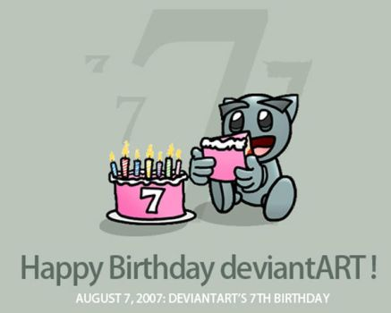 devART 7-th birthdaY by SENIL07