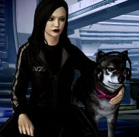 Heather Shepard adopts a dog by heather-shepard