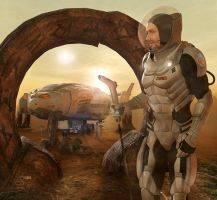 Echoes of Shore Leave by Rob-Caswell