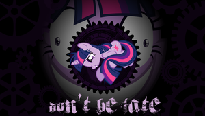 Don't  be late Wallpaper by Perrydotto