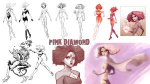 BACK ISSUES- concepts, Pink D. by ARTofANT