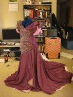 Pageant dress: getting there by Elrowiel