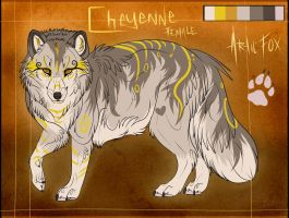 . Cheyenne - Reference Sheet . by Kasamm