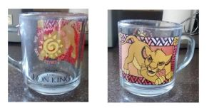 Lion King Cup_Garage Sale find! by SolitaryGrayWolf
