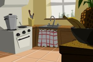 Kitchen by lincheana
