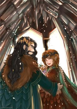 Bagginshield (Fem!Bilbo) :: A Royal Wedding by caylren