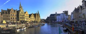 The lovely city of Gent by TimothyG81