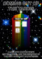 Coming out of the TARDIS cover by kingpin1055