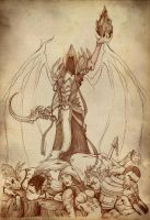 No one can stop Death - Malthael by danps